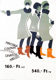 Piroska boots So-Ky 1960s