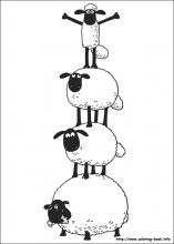 Shaun the Sheep coloring pages on Coloring-Book.info