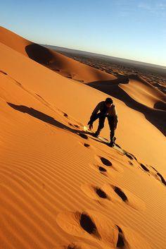 Sandboarding - Always Wanderlust @ https://www.alwayswanderlust.com