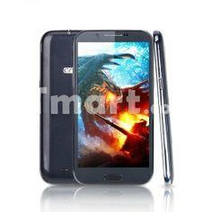 "N7100 MTK6572 5.5"" 512MB+4G Android 4.2.1 Dual Card Dual Standby 5 Mega Pixels Quadband GSM Bar Cellphone US Standard Black,$146.27"