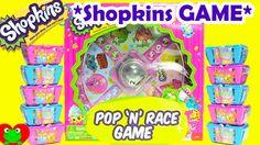 Shopkins Pop N Race Game Shopkins New GAME Season 1 Season 2 Blind Baskets