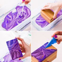 You're going to lose your marbles over nail polish marbling.