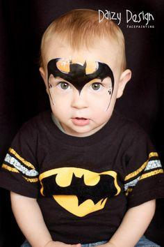 Batman face paint