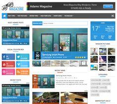 Seis plantillas de revistas para WordPress por 45 dólares o menos