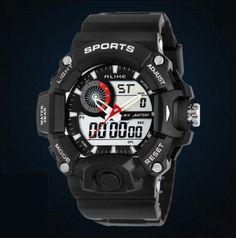 4b07d818128 Pánské moderní sportovní hodinky černé – pánské hodinky Na tento produkt se  vztahuje nejen zajímavá sleva