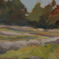 Marsh View #3 by Jillian Herrigel, Dimensions: 9 x 12 in, Price: $150.00