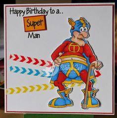 """Captain Thunderpants"" digi stamp http://www.doctor-digi.com/digital-stamp-men/captain-thunderpants Card by Ruth H http://weirdcatcardsnstuff.blogspot.co.uk/"