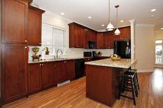 Gorgeous kitchen featuring granite countertops