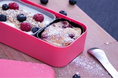 Monbento | Mini Red Cakes: raspberry/vanilla