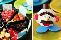 Decorate Your Own Mr Potato Head Cupcakes! :]