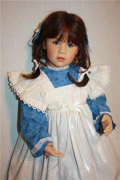 Четвёртая часть. Моя школьница Тора от автора Sissel Skille, в новом наряде / Куклы Gotz - коллекционные и игровые Готц / Бэйбики. Куклы фото. Одежда для кукол