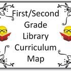 $8.50. This curriculum map includes essential questions, assessment, skills, and content for a first or second grade library class for the months August t...