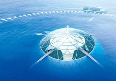 Japanese Architecture Firm Shares Renders Of Underwater City Concept