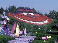 Cheshire Cat in Disneyland Paris