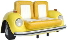 Unique Yellow Sofas With Car Shaped Design For Kid's Furniture Style Decoration Inspiration Style In Home