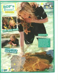 Jennette McCurdy, Full Page Pinup Clipping