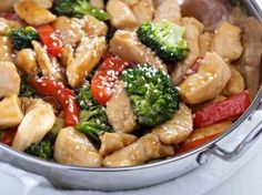 For a healthy weeknight meal you cannot go wrong with, try this chicken and vegetable stir fry. Chicken Vegetable Stir Fry, Chicken And Vegetables, Healthy Weeknight Meals, Easy Meals, Healthy Recipes, Clean Eating, Healthy Eating, Kitchen Recipes, I Foods