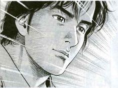 RyoSaeba City Hunter Manga Art, Manga Anime, Nicky Larson, Angel Heart, City Hunter, Fantasy, Illustration, Illustrations, Fantasy Books