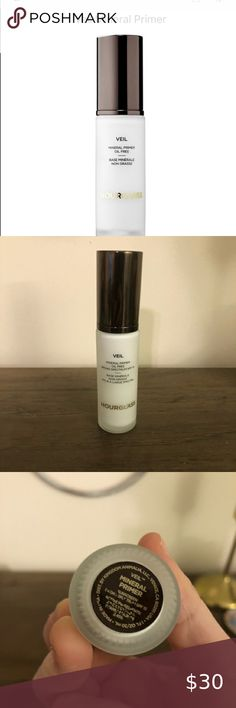 Hourglass Veil mineral primer ✨ Veil mineral primer Used once , purchased from hourglass 15 May 2020 Hourglass Makeup Primer Hourglass Makeup, Makeup Primer, Veil, Minerals, Closet, Things To Sell, Foundation, Armoire, Cabinet