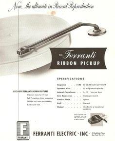 Ferranti ribbon pickup