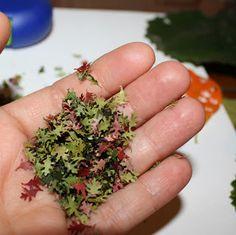 "The PURE Gardener, Inc.: How to Make ""Real"" Miniature Fall Leaves"