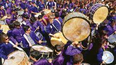 Tambores de Calanda en Semana Santa.