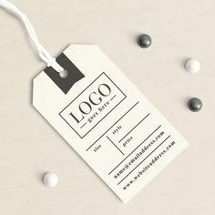 Personalizzato abbigliamento tag Tag a mano etichetta del