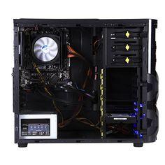 Con un procesador DUAL CORE AMD A4-6300 a 3700MHZy sus increíbles 8Gb de memoria DDR3, Guarda tus partidas, películas, música, etc... favoritas en su disco duro 1TB SATAIII.  Un PC de calidad que sirve para jugar y estudiar. ¡Sacarás las mejores notas y te divertirás como nunca! * Procesador AMD A4-6300 a 3.7Ghz. * Memoria RAM DDR3 de 8Gb. * Almacenamiento de 1Tb. * Gráficos Radeon HD8370D. * DVD-RW. * Caja In Win Mana 136. 430€