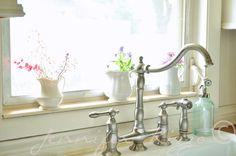 Bridge-Style Faucet. Jennifer Rizzo