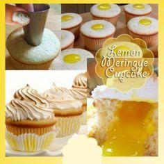 Lemon Meringue Cupkake - Thinkarete
