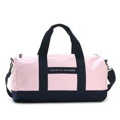 Tommy Hilfiger Boston bag TOMMY HILFIGER Duffle Bag travel bag pink / Navy 6926158 661