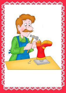 ملف ضخم عن أصحاب المهن - موارد المعلم Preschool Education, France, Math Lessons, Schools, Playroom, Bears, Mandala, Masks, Students