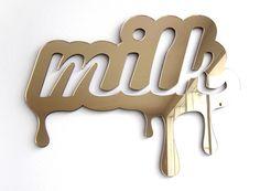 Sticky Typography by Ieva Glasius-Nyborg, via Behance
