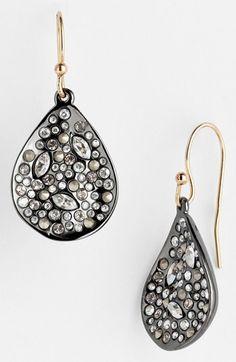Alexis Bittar 'Miss Havisham' Crystal Encrusted Teardrop Earrings (Nordstrom Exclusive) available at #Nordstrom
