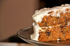 Z Sweets: Blue Ribbon Carrot Cake with Cream Cheese Icing