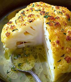 Whole Roasted Cauliflower With Butter Sauce Whole Roasted Cauliflower Recipe – A lovely LOW CARB side or a VEGETARIAN main course! Crisp, tender, and SO delicious, this is your new favorite way to eat cauliflower. If you need a printer-frien… Sauce Recipes, Keto Recipes, Vegetarian Recipes, Cooking Recipes, Healthy Recipes, Easy Recipes, Free Recipes, Delicious Recipes, Online Recipes
