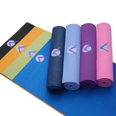 Aurorae Yoga Mats – Ultra Thick, Extra Long with Focal point Icon and Illuminating Colors. SGS approved Free from Phthalates and Latex. All products guaranteed. Midnight « Blast Gifts