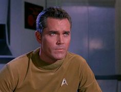 Captain Christopher Pike; played by Jeffrey Hunter