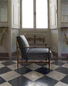 Gaia #armachair at Salis Palace in Chiavenna
