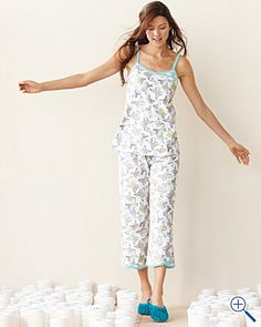 Asian Wrap Camisole Pajamas from Garnet Hill