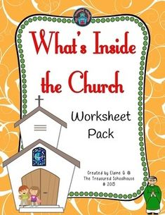 What's Inside the Church Worksheet Pack