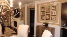 Designing interiors with Calvin Watt. This 2 bedroom condo in the heart of buckhead was fantastic. Condo Remodel, Interior Design Photos, Oversized Mirror, Flooring, Bedroom, Furniture, Home Decor, Decoration Home, Room Decor