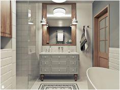 Łazienka styl Vintage - zdjęcie od 2k-architektura - Łazienka - Styl Vintage - 2k-architektura
