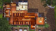 My Sims 3 Blog: Merlotte's Bar & Grill by KrazyAngelKat81
