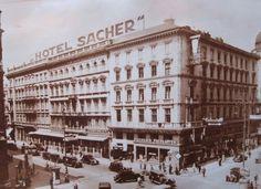 Vienna Hotel Sacher 1930s