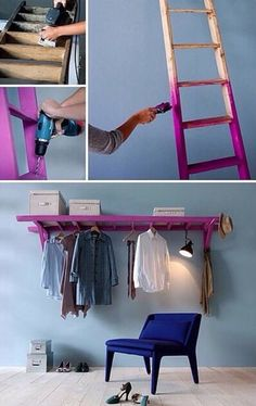 if i can't have a closet, i'd happily have this