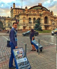 Public witnessing in the city center in Kiev, Ukraine (Opera and Ballet Theatre). by Nikolay Grigoryuk Malena Reichert thank you for sharing AGAPE