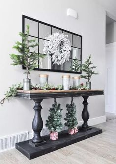 Thanks to Kirklands for providing the entryway console table. This post contains Entryway Decor Ideas Console Entryway Kirklands post providing Table Entryway Console Table, Entrance Table, Entryway Decor, Rustic Entryway, Entryway Ideas, Hallway Ideas, Rustic Console Tables, Entryway Closet, Entrance Foyer