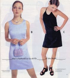 These spring formal dresses. | 23 Of The Most '90s Fashions From The Spring '97 Delia's Catalog