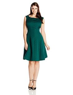 Hunter green lace dress in womens size